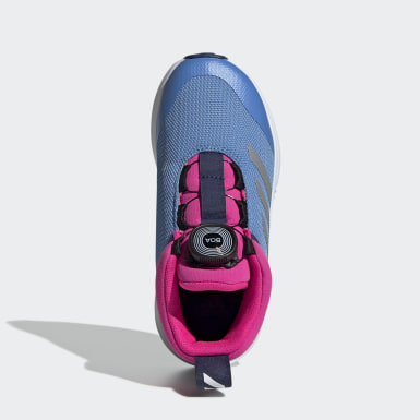 Kids Running Blue FortaTrail X Boa Shoes