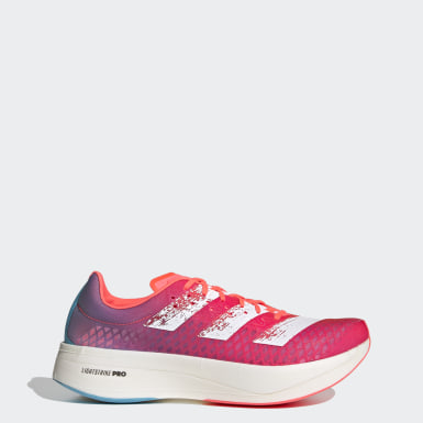 Running Pink Adizero Adios Pro Running Shoes