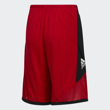 Children Basketball Red Pro Bounce Shorts
