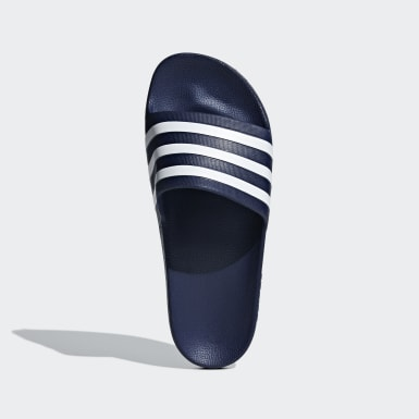 Winter Sports Blue Adilette Aqua Slides