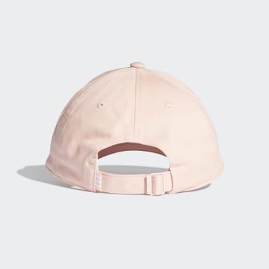 Cappellino Trefoil Baseball Rosa Originals