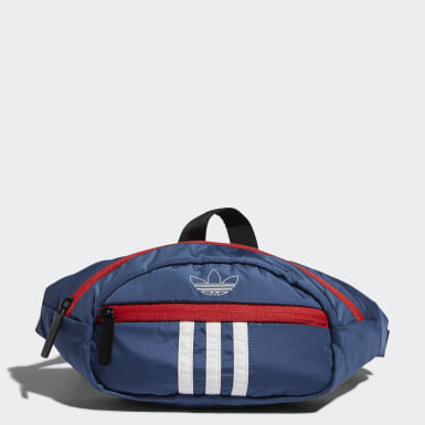 Originals Blue National 3-Stripes Waist Pack