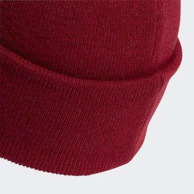 Бордовый Шапка Logo