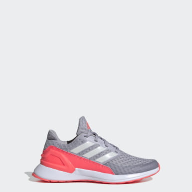 Youth Running Grey RapidaRun Shoes