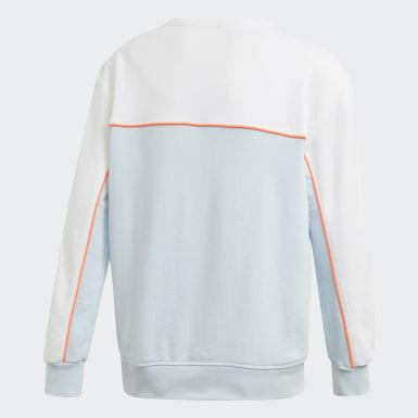Sweat-shirt Crew Bleu Garçons Originals
