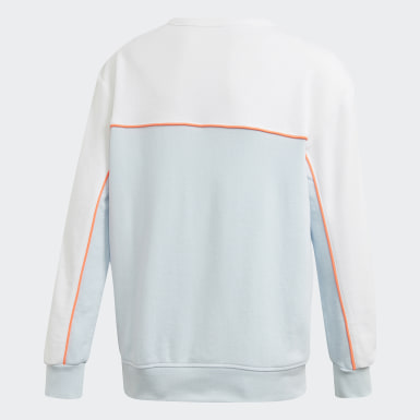 Jungen Originals Sweatshirt Blau