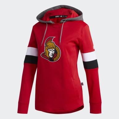 Women Hockey Multicolor Senators Platinum Crewdie