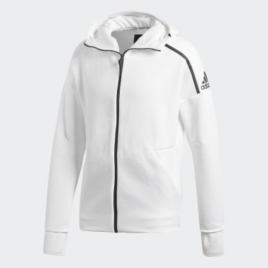 Heren Athletics Wit adidas Z.N.E. Fast Release Hoodie