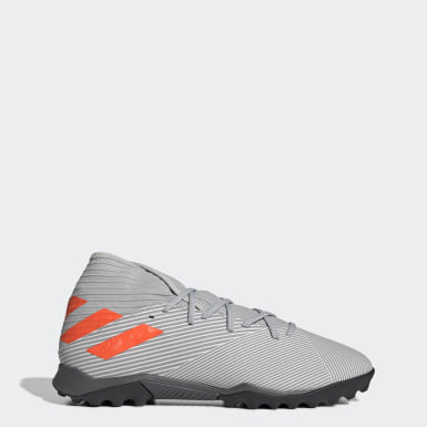 Soccer Grey Nemeziz 19.3 Turf Shoes