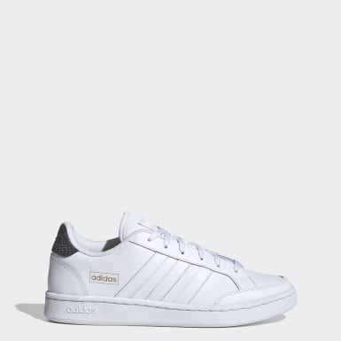 Women Sport Inspired White Grand Court SE Shoes
