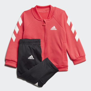 Kids Training Pink Mini Me Track Suit