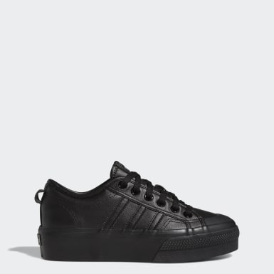 Women's Originals Black Nizza Platform Shoes