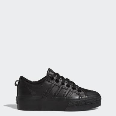 Sapatos de Plataforma Nizza Preto Mulher Originals
