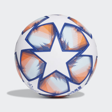 Football White UCL Finale 20 Pro Ball