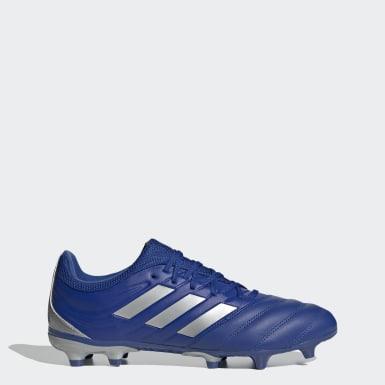 Calzado de fútbol Copa 20.3 Terreno Firme Azul Hombre Fútbol