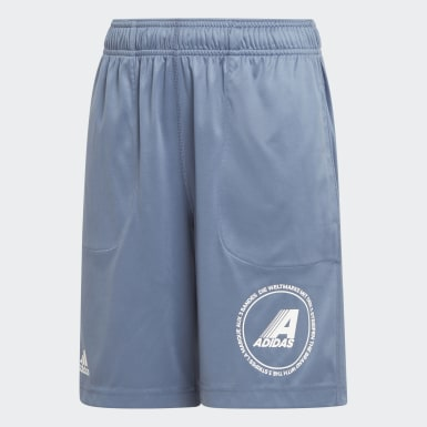 Shorts Reversibles Azul Niño Training