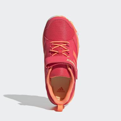 Children Trail Running Pink Terrex Tracerocker CF Hiking Shoes