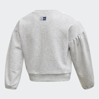 Sweat-shirt Frozen. Gris Filles Training
