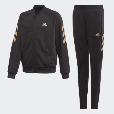 Girls Training Black XFG Track Suit