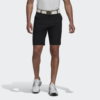 "Shorts Ultimate365 9"" Negro Hombre Golf"