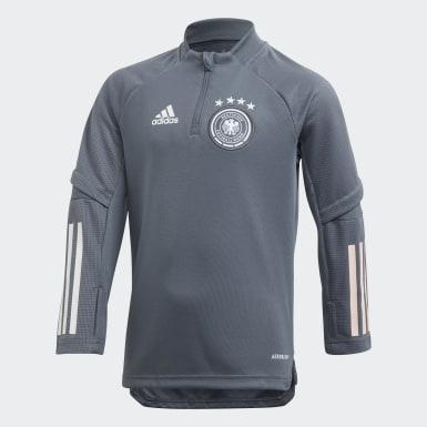 Børn Fodbold Sort Germany træningstrøje
