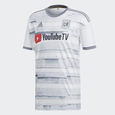 Mænd Fodbold Hvid Los Angeles FC udebanetrøje