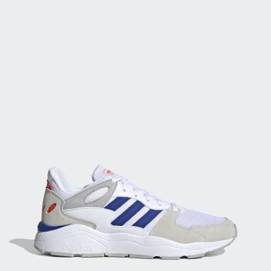 Chaussure Crazychaos Blanc Hommes Running