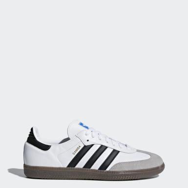 Women Originals White Samba OG Shoes