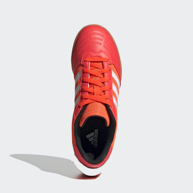 Chaussure Super Sala Orange Garçons Football