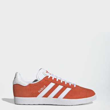 Chaussure Gazelle Orange Femmes Originals