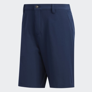 "Heren Golf Blauw Ultimate365 9"" Short"