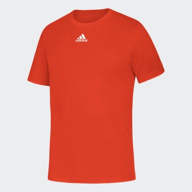 Youth Training Orange Badge of Sport Tee