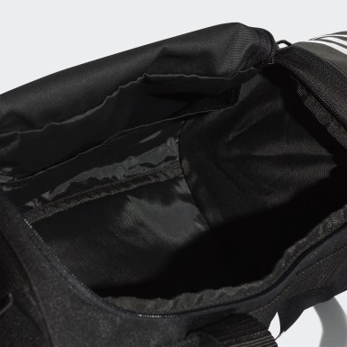 Feldhockey Convertible 3-Streifen Duffelbag XS Schwarz