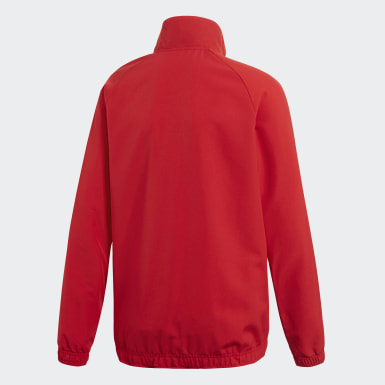 Youth 8-16 Years Training Red Core 18 Presentation Track Top