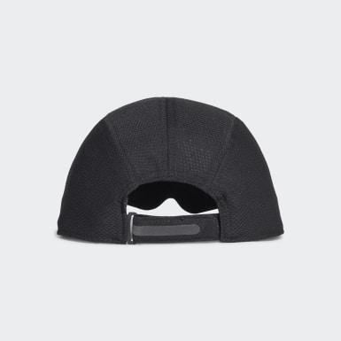 วิ่ง สีดำ หมวกแก๊ปผ้าตาข่ายสำหรับนักวิ่ง AEROREADY