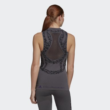 Frauen adidas by Stella McCartney TRUEPURPOSE Seamless Tanktop Grau