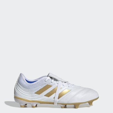 Football White Copa Gloro 19.2 Firm Ground Boots