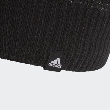 черный Светоотражающая шапка