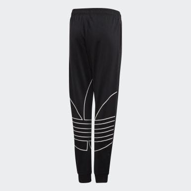 Pantaloni Large Trefoil Nero Bambini Originals