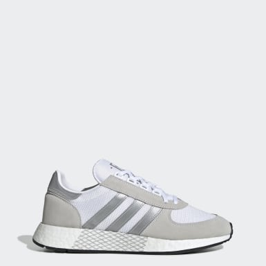 Women Originals White Marathon Tech Shoes