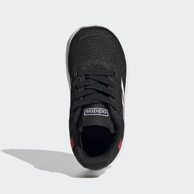 Kids Running Black Nebzed Shoes