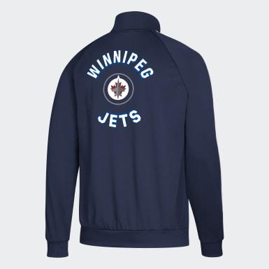 Veste de survêtement Jets Essentials 3-Stripes multicolore Hommes Hockey