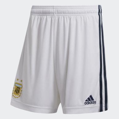 Shorts de visitante Argentina Blanco Hombre Fútbol