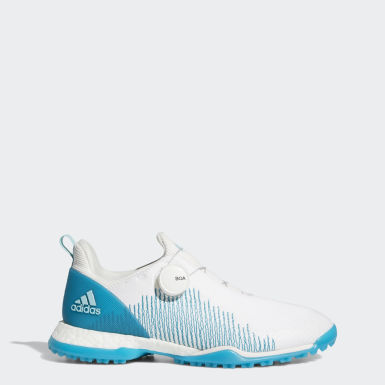 Women Golf White Forgefiber Boa Shoes