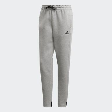 Pantaloni Must Haves Grigio Donna Athletics