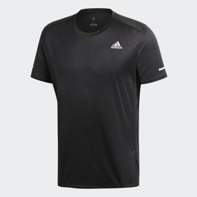 Camiseta Run Negro Hombre Running
