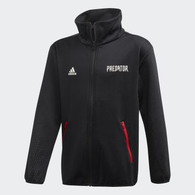 Youth Training Black Predator Track Jacket