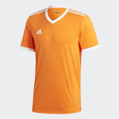 ผู้ชาย ฟุตบอล สีส้ม เสื้อฟุตบอล Tabela 18
