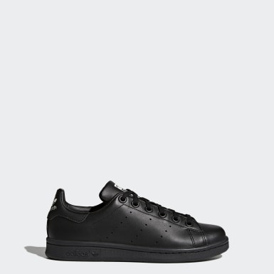 Zapatilla Stan Smith Negro Niño Originals