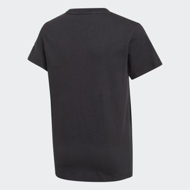 Camiseta Adicolor 3D Trefoil Negro Niño Originals